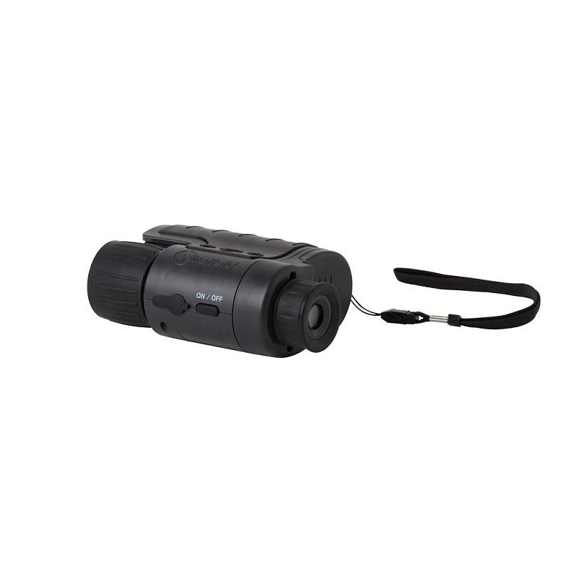 Монокуляр ночного видения Firefield N-Vader цифровой 1-3x, цвет - черный, чехол, блистер (тип питания 4шт. АА) quarta-hunt.ru