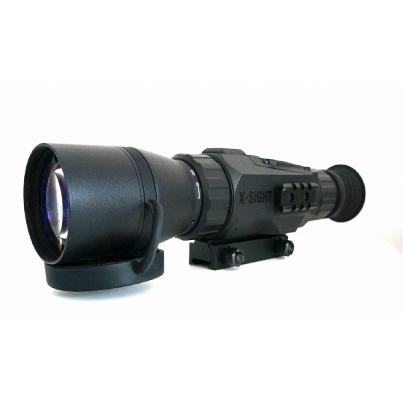 Прицел ATN X-Sight HD 5-18х60  1080 запись видео, ночной режим, Wi-Fi, GPS, cтабилизация изображения, iOS, Android quarta-hunt.ru