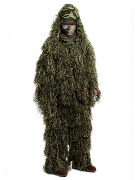 Костюм-леший Ghillie Woodland 10 шт./кор. quarta-hunt