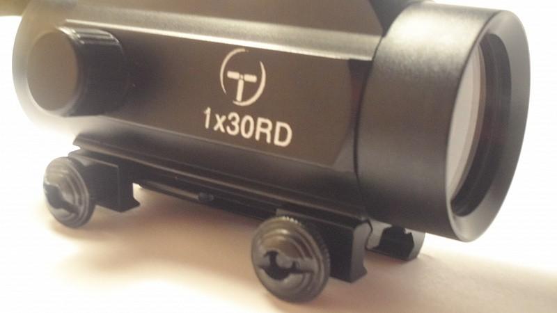 коллиматор Target Optic 1х30 закрытого типа на Weaver, подсветка точка  50 шт./кор. quarta-hunt.ru