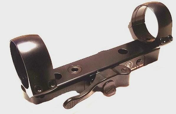 Быстросъемный кронштейн СА O 30 mm на основания СА (длина базы 115, расст. между кольцами 100) quarta-hunt