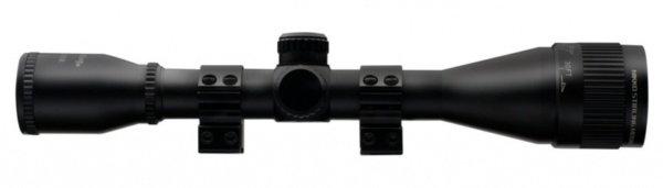 Прицел Nikko Stirling серии MOUNTMASTER 4×40 AO, halfmil-dot, без подсветки, 2 кольца 11мм. quarta-hunt