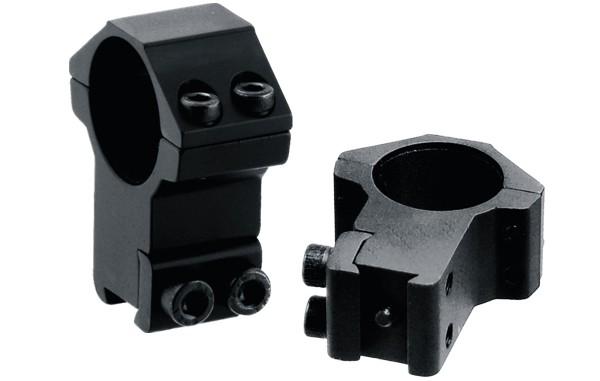 Кольца LEAPERS AccuShot 25,4 мм, на призму 10-12 мм, высокие (100 шт./уп.) quarta-hunt