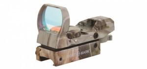 коллиматор Sightmark панорамный, 4 марки, крепление на планку 11 мм (ласточкин хвост), камуфляжный quarta-hunt.ru