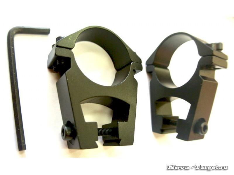 Кольца 30 мм. на планку 11-12 мм quarta-hunt.ru