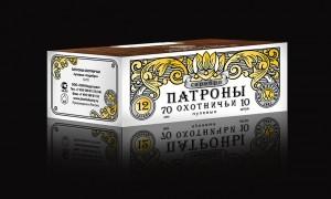"""Патроны охотничьи пулевые 12/70, 33,5гр., """"Полева 6"""", П/К"""
