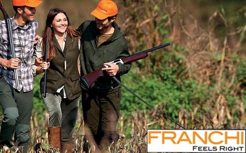 Скоро большое поступление итальянских ружей Franchi!