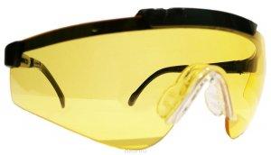 """Очки стрелковые """"Stalker"""" защит.,цвет-желтые"""