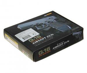 Пистолет софтэйр GALAXY G.16 пружинный