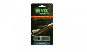 HiViz целик Rifle/Shotgun двойной,зелен,д/ружей и караб-в,планка 9,5мм