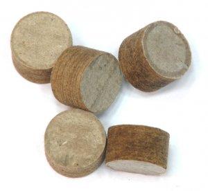Пыж древесно-волокнистые (200шт в уп) 20кал.