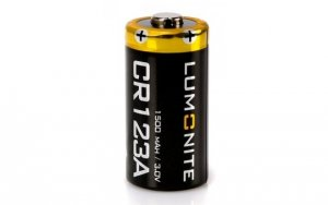 Батарейка LUMOUNITE CR123A 1500mAh