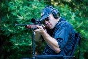 Стул Benchmaster Sniper материал-сталь/кордура,черный,упоры для рук